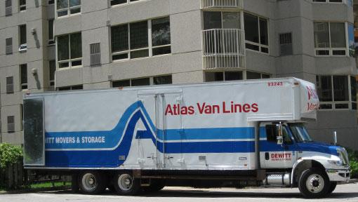 Dewitt local moves midsize truck